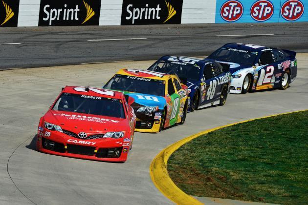NASCAR Sprint Cup Power Rankings: Week 12 Edition