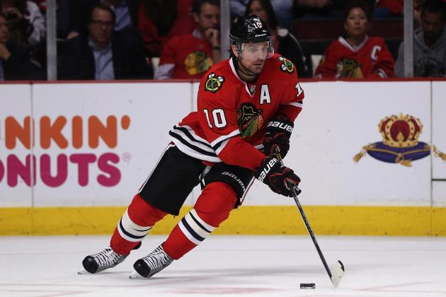 Chicago Blackhawks: 5 Players to Watch in Game 1 vs. Detroit Red Wings