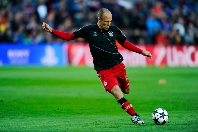 Arjen Robben: 5 Clubs the Dutchman Could Sign for This Summer