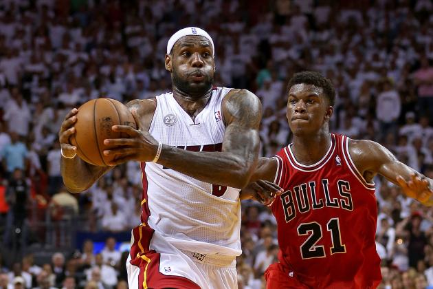 Ranking LeBron James' Performances in Conference Finals
