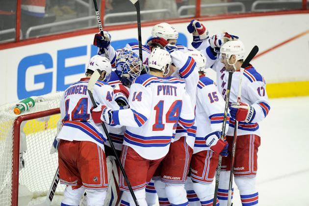 Setting Expectations for New York Rangers' Stars in 2nd-Round Playoff Series
