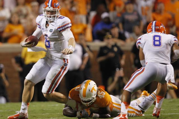 Florida Football: Ranking the Gators' 2013 Opponents by Difficulty Level