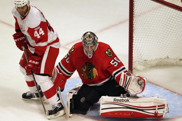 Will Corey Crawford Stay Hot in Chicago Blackhawks' 2nd-Round Playoff Series?