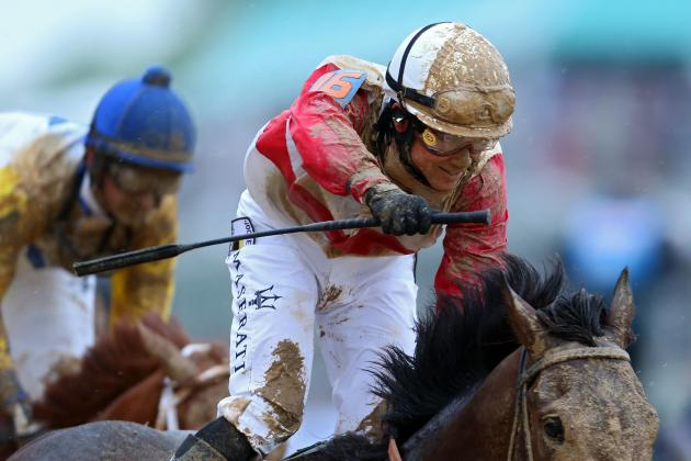 Preakness Jockeys 2013: Win-Place-Show Records and Rider Outlooks