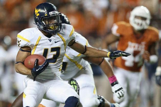 West Virginia Football: Ranking the Mountaineers' Best Offensive Weapons
