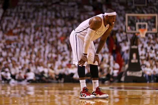 Ranking LeBron James' Sickest Shoes of the 2012-13 NBA Season