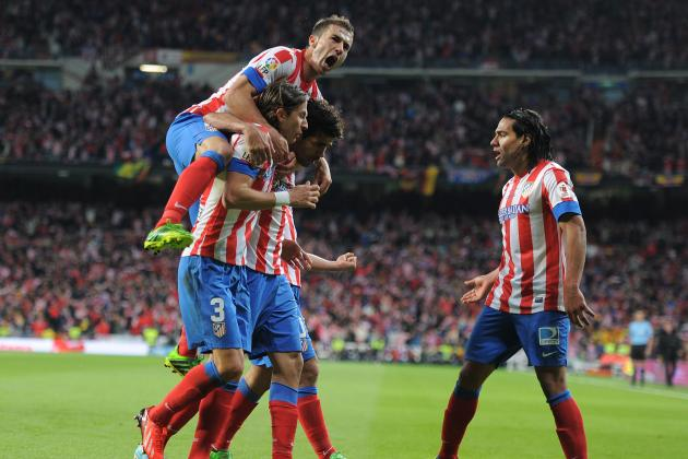 Real Madrid 1-2 Atletico Madrid: Rating Both Sets of Players