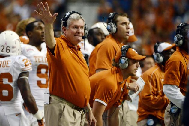 Mack Brown's 6 Biggest Challenges for Texas in 2013