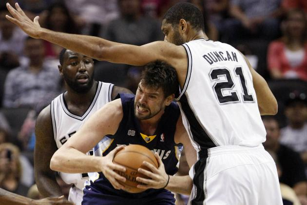 Game Predictions for Grizzlies vs. Spurs in Western Conference Finals