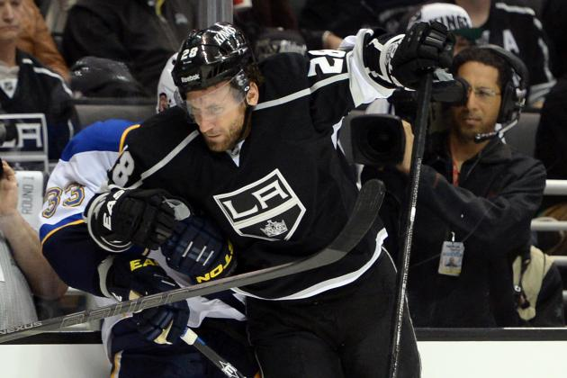 Ranking the Hardest Hitting Teams Left in the NHL Playoffs