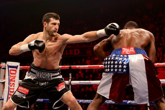 Power Ranking Carl Froch's 5 Best Wins