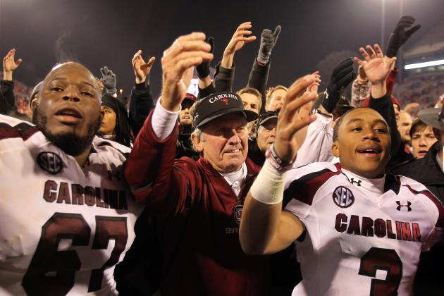 Coach Spurrier's 5 Biggest Challenges for South Carolina in 2013