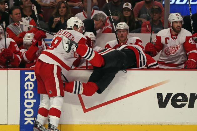 NHL Playoffs 2013: Detroit Red Wings' Players to Watch in Game 3 vs. Blackhawks