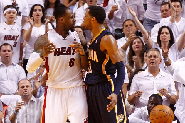 Top 20 Highlights from Miami Heat vs. Indiana Pacers 2012 NBA Playoff Series