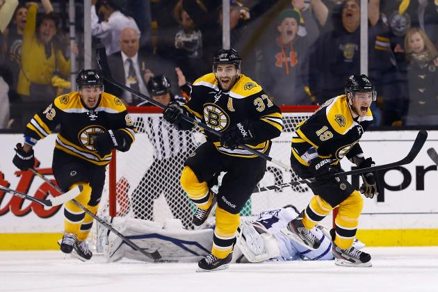 5 Eye-Popping Statistics from the Boston Bruins' 2013 Playoff Campaign