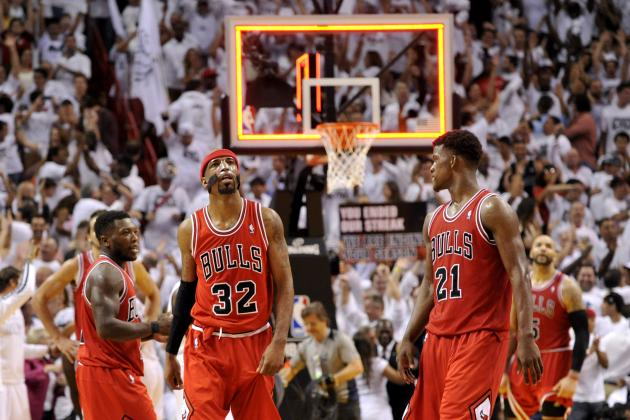 Grading the Chicago Bulls' Starting Five from the 2012-13 Season