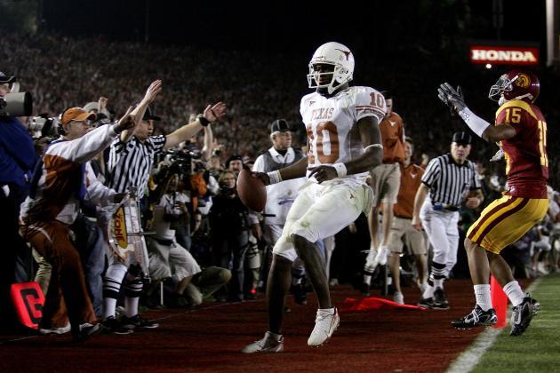 Texas Football: 10 Most Memorable Plays in Longhorn History