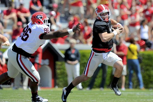 Georgia Football: Comparing Aaron Murray to David Greene
