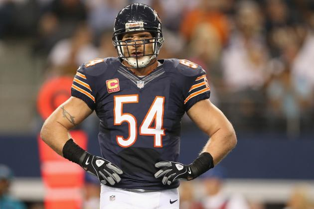 Where Does Brian Urlacher Rank Amongst Greatest LBs in NFL History?