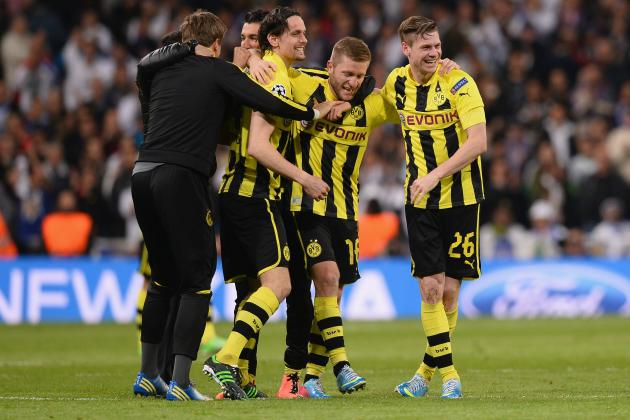 Plotting Borussia Dortmund's Path to the Champions League Final
