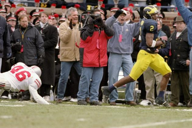 Michigan Football: 10 Most Memorable Plays in Wolverines History