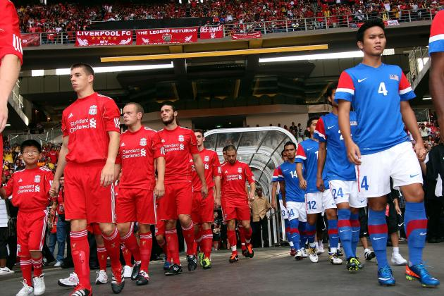 Complete Guide to Liverpool's 2013 Summer Tour: Indonesia, Australia, Thailand