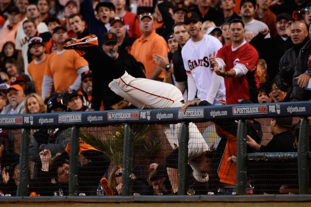 10 Greatest MLB Catches While Diving into the Crowd Since 2000