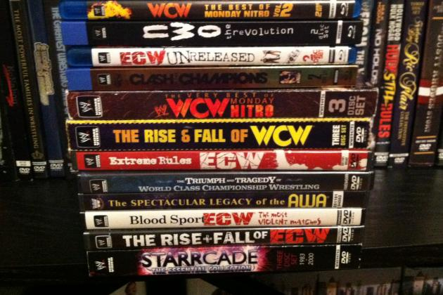 WWE: Top 5 WWE-Produced DVDs About Other Organizations