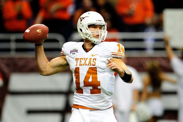 Texas Football: Predicting the Longhorns' Statistical Leaders for 2013
