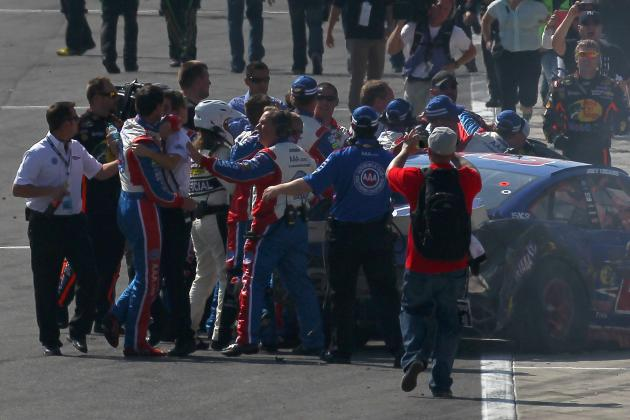 Ranking the 10 Greatest Fights in NASCAR History