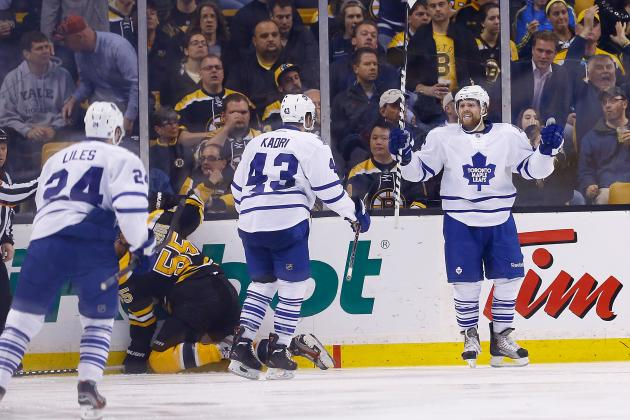 Toronto Maple Leafs' 5 Most Impressive Players During 2013 Playoffs