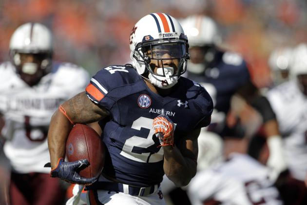 Auburn Football: The 5 Strongest Positions on the Tigers' 2013 Roster
