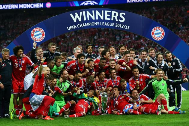 Champions League Final Player Ratings: Borussia Dortmund vs. Bayern Munich