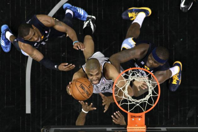 Comparing Every Starter in Spurs-Grizzlies WCF Series to Rec-Ball Archetypes