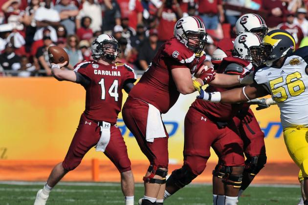 South Carolina Football: 3 Reasons Gamecocks Are Bound to Underachieve in 2013