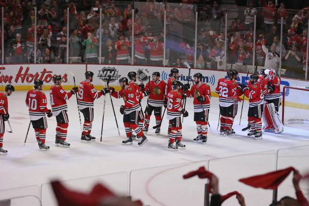 5 Most Incredible Images from Chicago Blackhawks'  2013 Stanley Cup Playoff Run