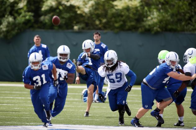 The Best Rookie Storylines at Indianapolis Colts OTAs
