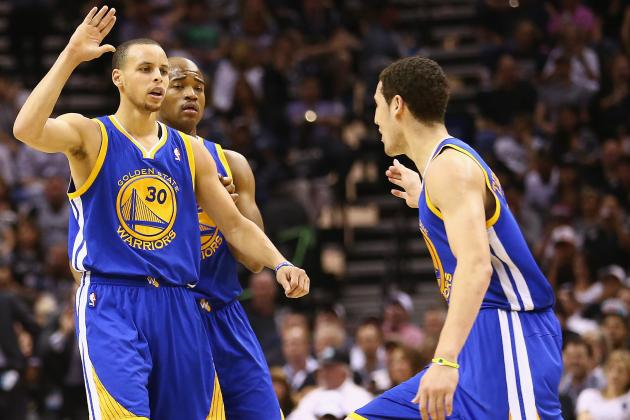 Final Grades for Every Golden State Warriors Starter in 2012-13
