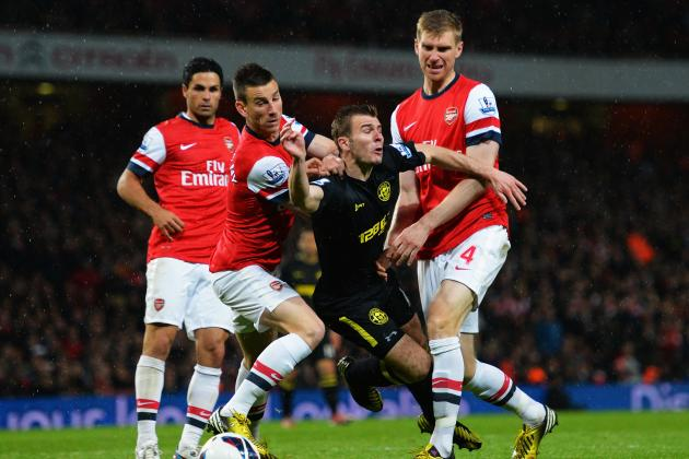 Rating Arsenal's Defenders' Performances in the 2012/13 Season