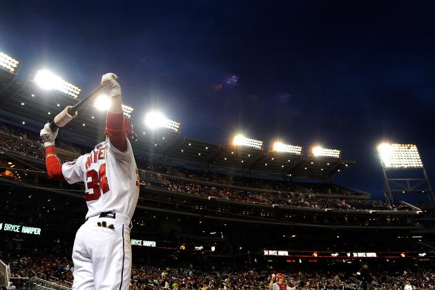 Bryce Harper's 10 Longest Home Runs of 2013