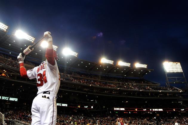Bryce Harper's 10 Longest Home Runs of 2013
