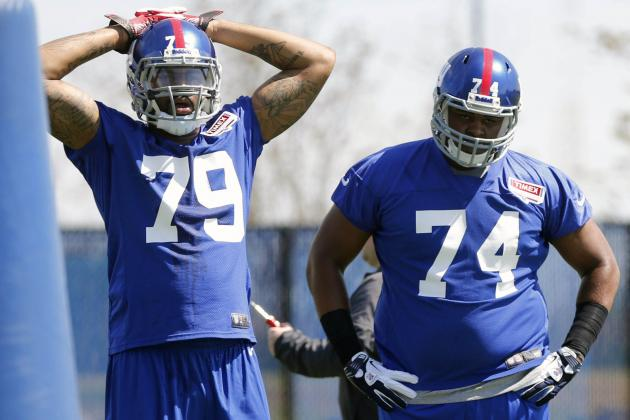 The Best Rookie Storylines at New York Giants OTAs