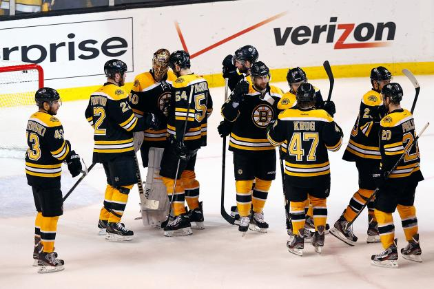 Grading Each Boston Bruins Line in Round 2 of the 2013 NHL Playoffs