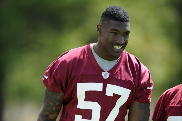 The Best Rookie Storylines at Washington Redskins OTAs