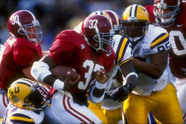 Power Ranking the 10 Best Running Backs in SEC History