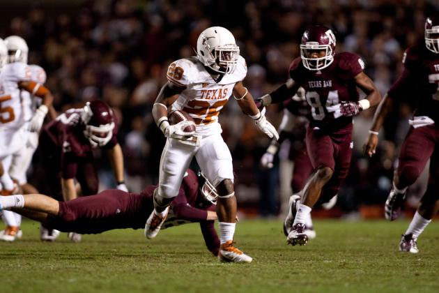 Texas Football: Ranking the 5 Best Longhorns in the Clutch