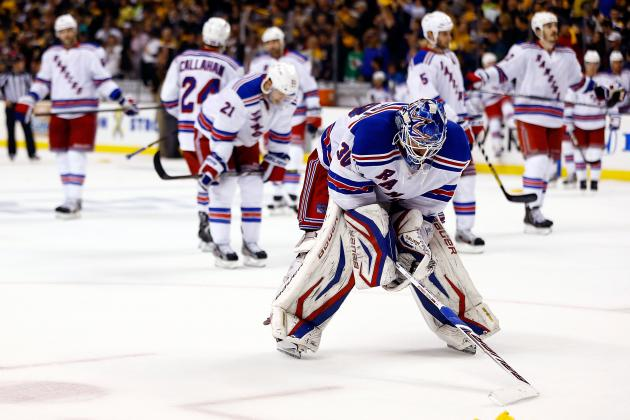 Final Grades for the New York Rangers' 2013 Season