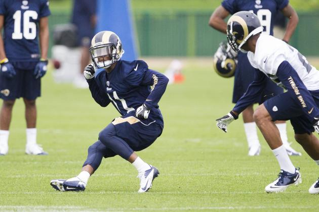 The Best Rookie Storylines at St. Louis Rams' OTAs