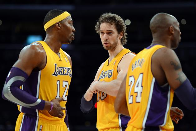 Final Grades for Every LA Lakers Starter in 2012-13