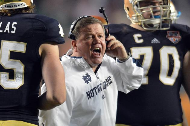 A Game-by-Game Prediction of Notre Dame's 2013 Schedule Without Everett Golson